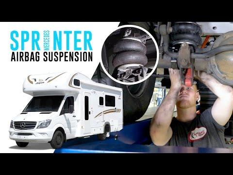 4a03a5fbb42821 Mercedes Sprinter Air Suspension - RR4690 Airbag Man Leaf Helper Suspension  Kit