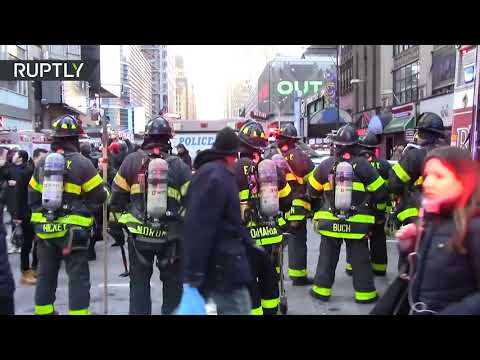 New York police respond to terror attack