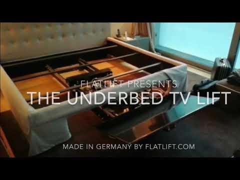 Geniale Lösung Tv Unterm Bett Fernseher Unterm Bett Youtube