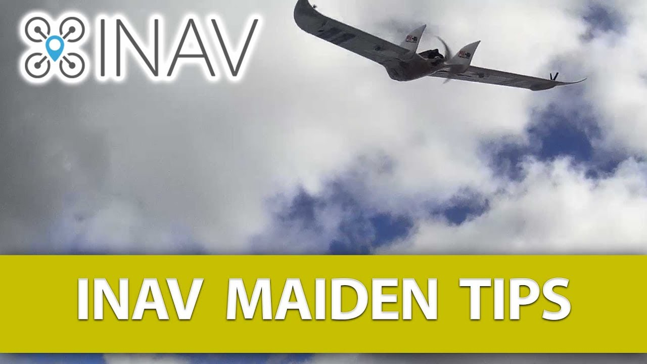 NINE Tips for a Successful INAV Maiden (FX-61 FPV Flyingwing Maiden,  Omnibus F4 V2 Board)