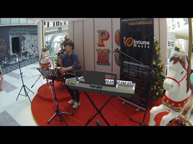 Xie Jiangshan Christmas performance  @ POMO ?Last Christmas+?????+???