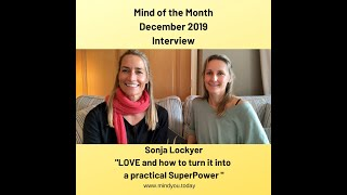 LOVE I MIND OF THE MONTH Sonja Lockyer Dec 2019 I and how to turn it into a practical SuperPower