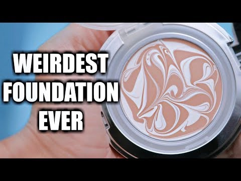 MARBLE FOUNDATION WEIRD AF | HIT OR MISS?