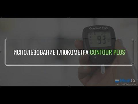 Как измерить сахар в крови глюкометром Контур Плюс (Contour plus). Пошаговая инструкция
