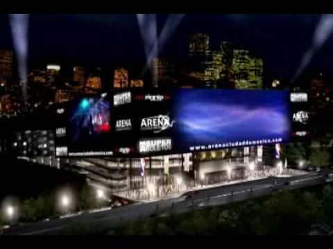 Arena Ciudad De M 233 Xico Youtube