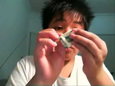 How To Do The Self Folding Dollar Bill Trick