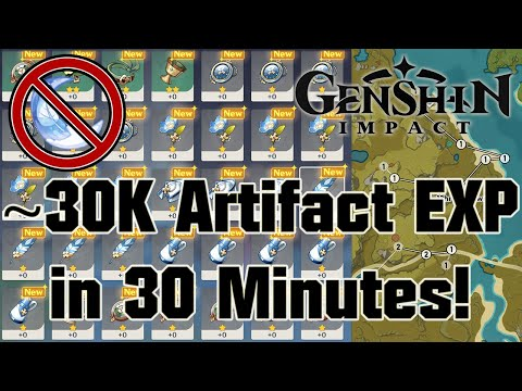 A Comprehensive Overview of Artifact Routes   Genshin Impact
