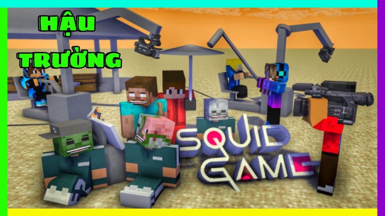 [ Lớp Học Quái Vật ] HẬU TRƯỜNG : PHIM TRÒ CHƠI CON MỰC '' Cực Vui '' | Minecraft Animation