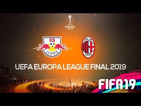 A GRANDE FINAL DA UEFA EUROPA LEAGUE! MILAN X LEIPZIG! | FIFA 19 MODO CARREIRA #31