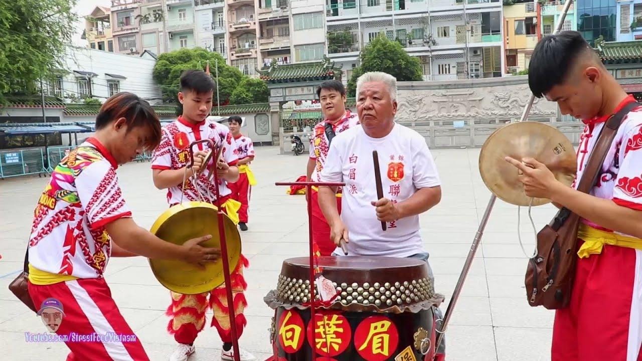 Đánh Trống Múa Lân Phật Sơn Truyền Thống Cực Hay / Lion Dance Drumming Vietnam 2019