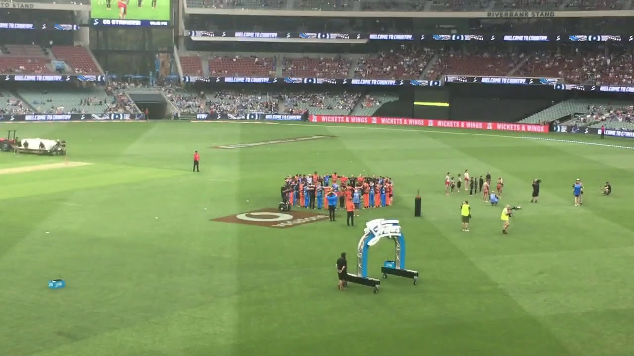 2019 2020 BBL Adelaide Strikers V Perth Scorchers ...