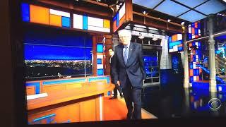 Late Show with Stephen Colbert - Blanka Stage Music - Bernie Sanders - 2018.12.06
