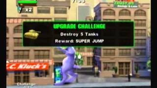 Rampage: Total Destruction (Wii) All Monsters Part 2