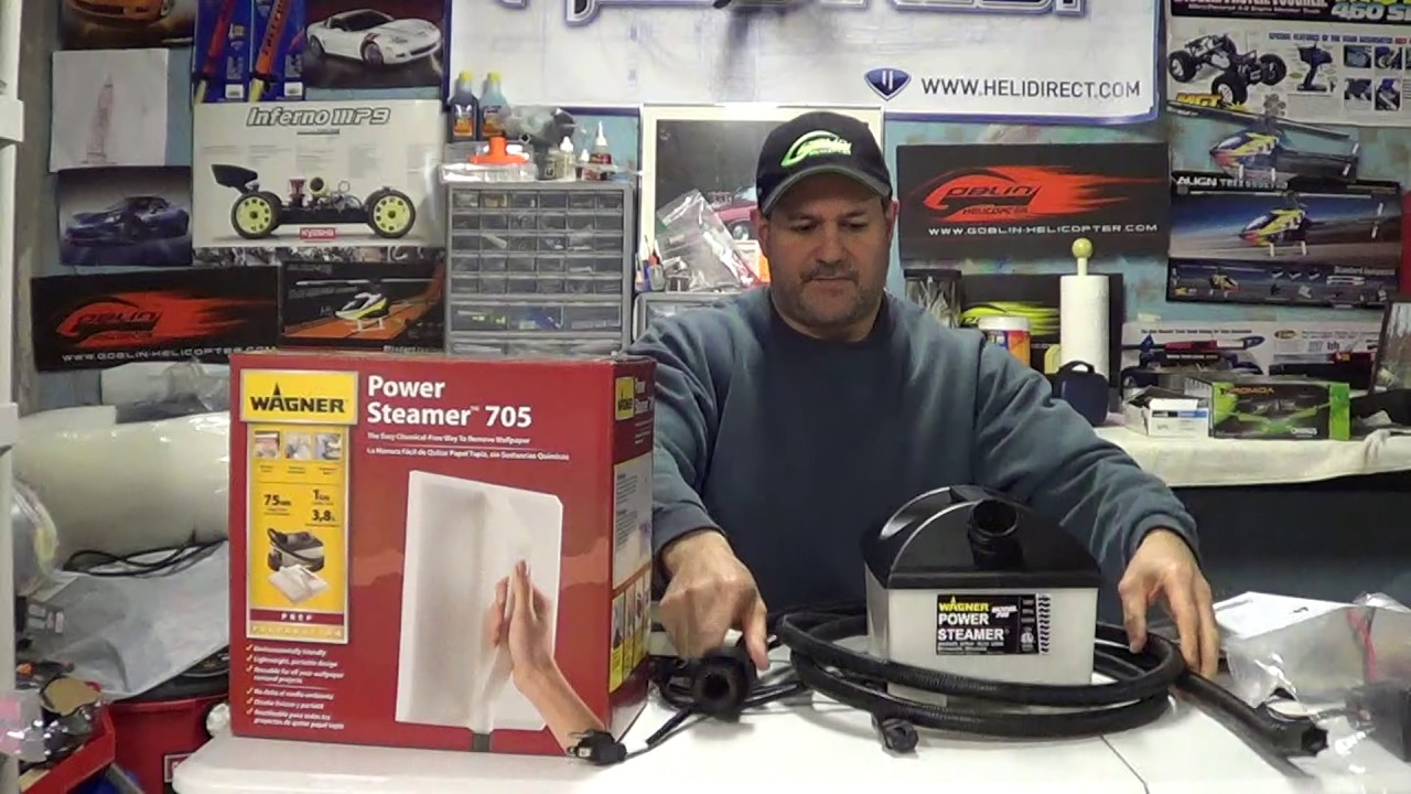 Wagner Power Steamer 705 Wallpaper Remover Review Plus Wallpaper Removal Tips