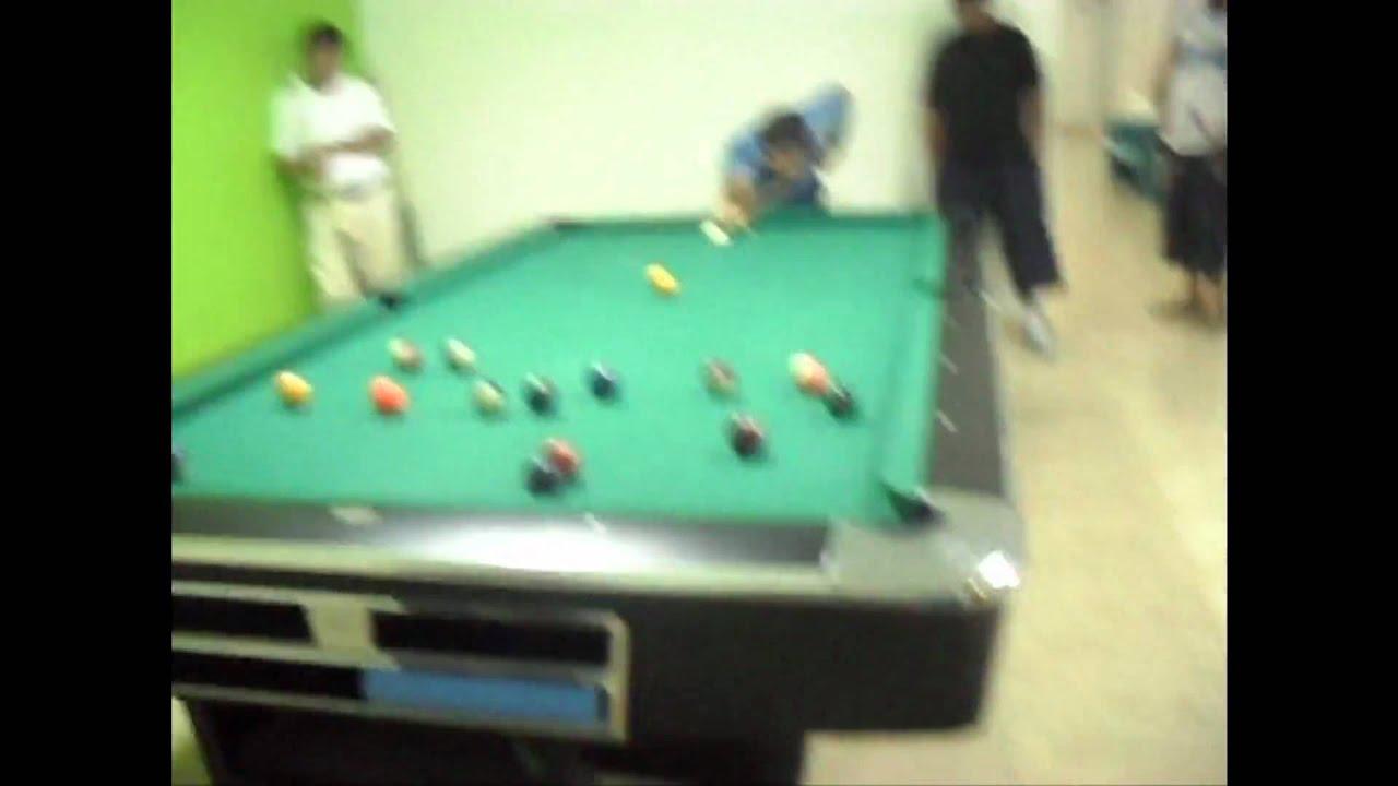 Dad wins 2010 Barwa Messaimer 8-Ball Billiard Tournament