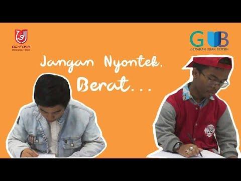 Jangan Nyontek Berat ( GUB 2018) Inspired By Dilan 1990