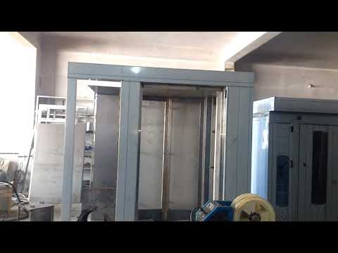 Rotary rack oven diesel with Electrical