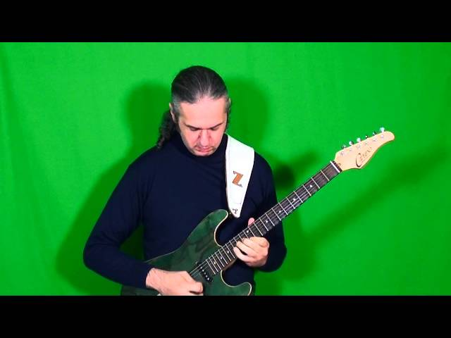 MARCELLO ZAPPATORE plays BACK IN BLACK solo (AC DC) by Angus Young