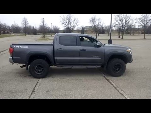 2016 Toyota Tacoma with Flowmaster 50 series dual exhaust ...