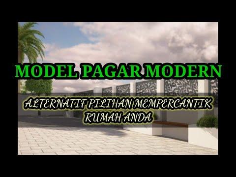 model-pagar-minimalis-dan-modern