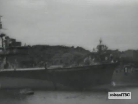 Damaged Units of the Japanese Navy in Yokosuka - October 1945