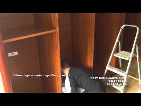 best demenagements paris demontage et remontage d une armoire 3 portes coulissante