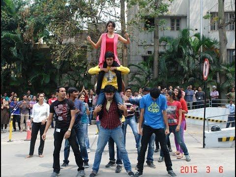 Flash Mob @ ROBERT BOSCH (RBEI), KORAMANGALA, BANGALORE | Tudoz (RohitZ)