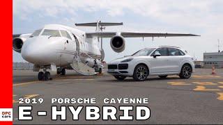 2019 Porsche Cayenne E Hybrid With Private Jet