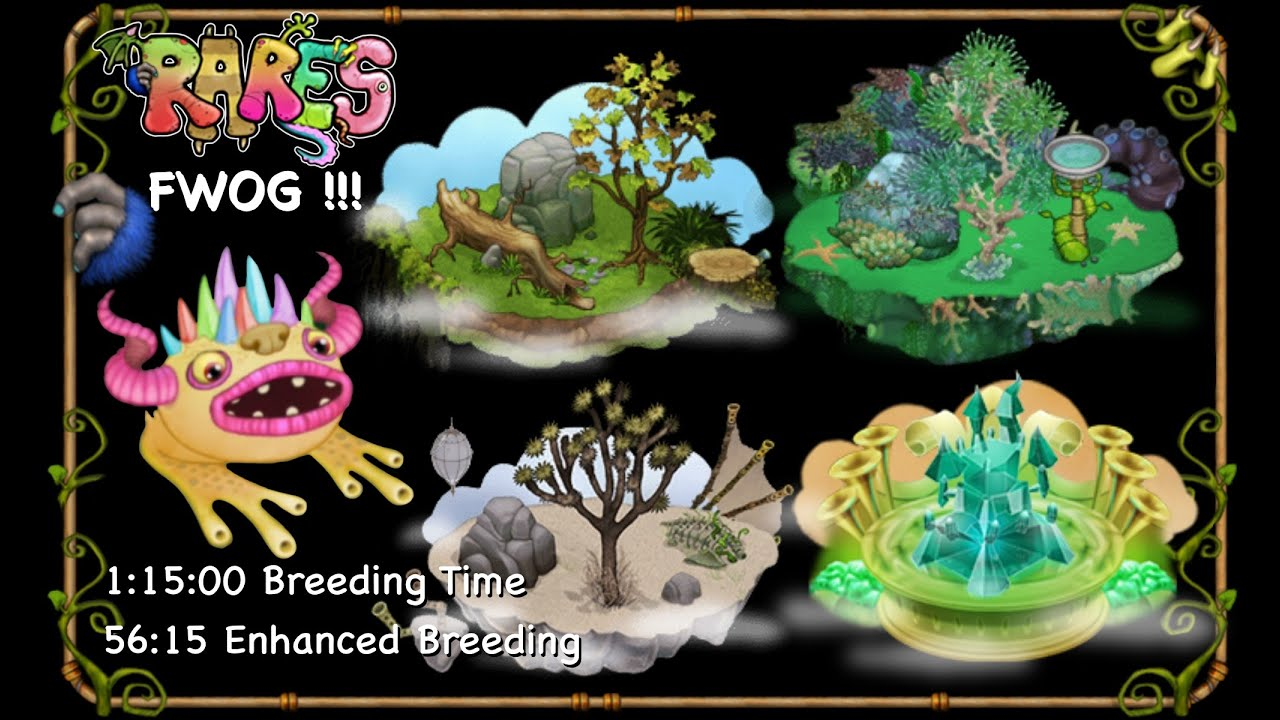 Discovery of RARE FWOG!!! My Singing Monsters! Diane Delsig 64094bi