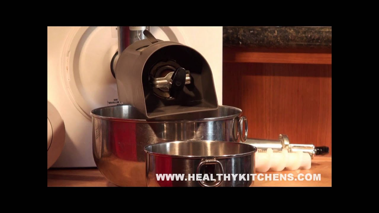 Bosch Universal Plus Berry Press Attachment Youtube