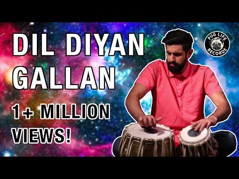 Dil Diyan Gallan Percussion REVAMPED!!! (Shobhit ft. Manish)