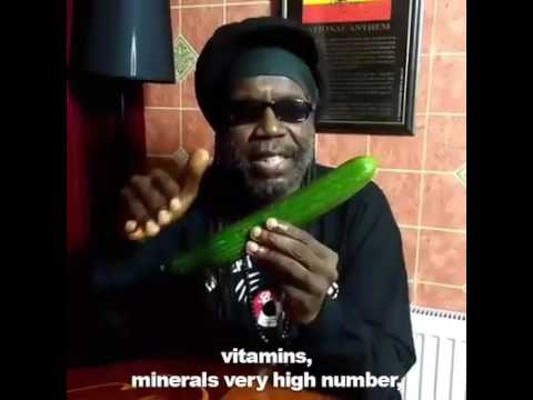 African Sings A Sick Cucumber Rap