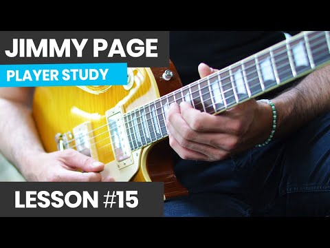 How To Improvise With Scales Like Jimmy Page - Jimmy Page Style Guitar Lesson