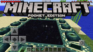Minecraft Pocket Edition - How To Make An END PORTAL (Minecraft PE 0.14.1)(, 2016-04-02T00:52:26.000Z)