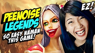 LEGENDARY PEENOISE!!! League of Legends Funny Moments / Irelia Gameplay