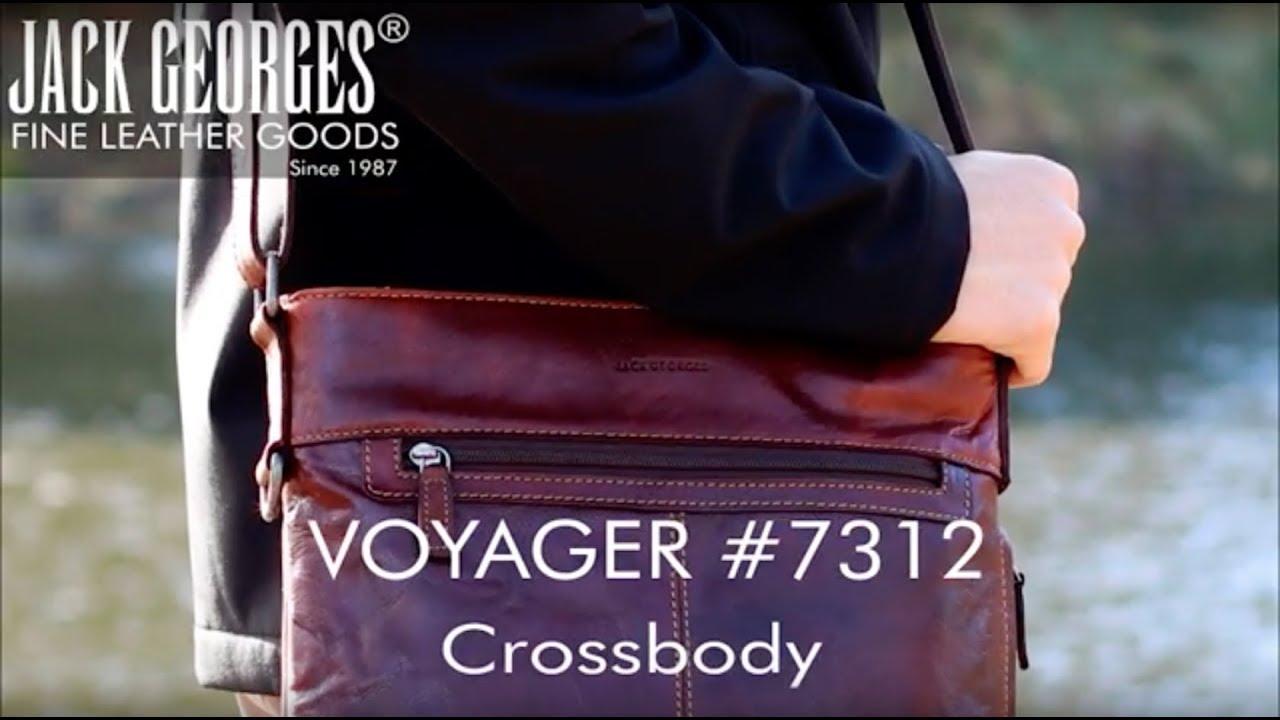Voyager Crossbody Bag  7312. Jack Georges Inc. f181f5dc6f