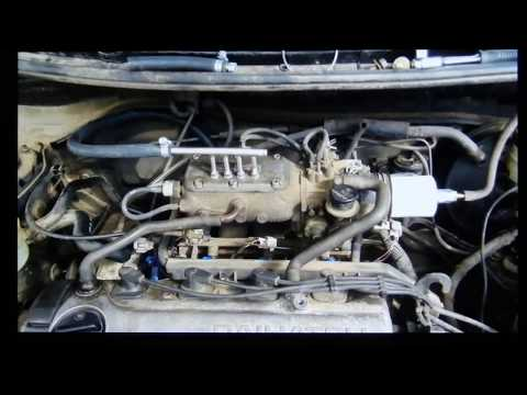 Car engine running on 100% HHO pure hydrogen & oxygen  SEVER'S © 1998-2014