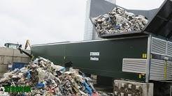 Stronga | Kuivatun primaarijätteen (0-300mm) kuivaaminen FlowDrya Waste Series