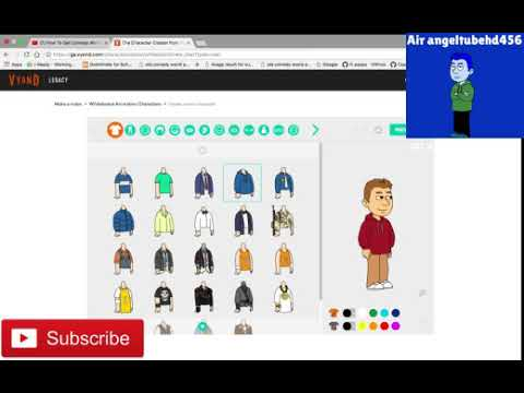 how to get comedy world character creator on vyond and from requestly