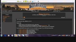 [SA:MP] NooBot RolePlay 0.3d - Kako igrati GTA Online preko servera?
