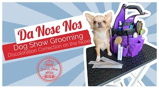 Show Ring Tips and Tricks  Dog's Nose Discoloration