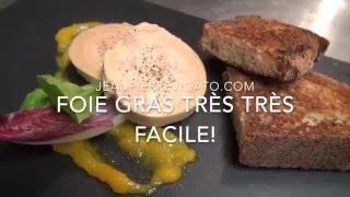 Foie Gras facile cuisson 9 min vapeur!