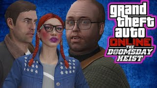 NOOSE VAN & ADULT NAPPING - Grand Theft Auto V ONLINE DOOMSDAY HEIST Act 2 w/Ray4yr & DRSSTORM