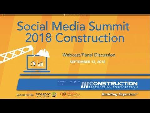 2018 Construction Marketing Association Social Media Summit