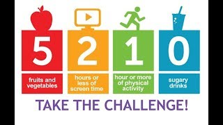 Healthy Kids 5210 Challenge