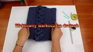Efektowny warkocz na drutach. Jak zrobić.