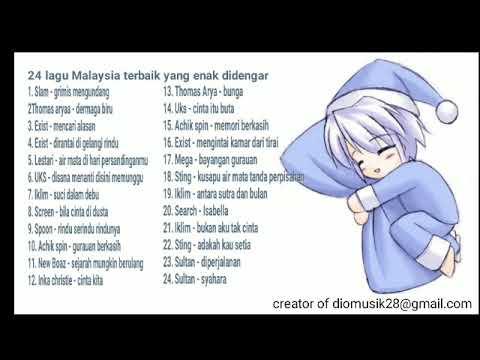 Best Song (24 Lagu Malaysia) Enak Buat Tidur