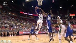 Semi Ojeleye SL Highlights vs New York Knicks (21 pts, 6 reb)
