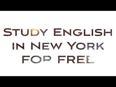 Бесплатные курсы английского языка в Нью-Йорке