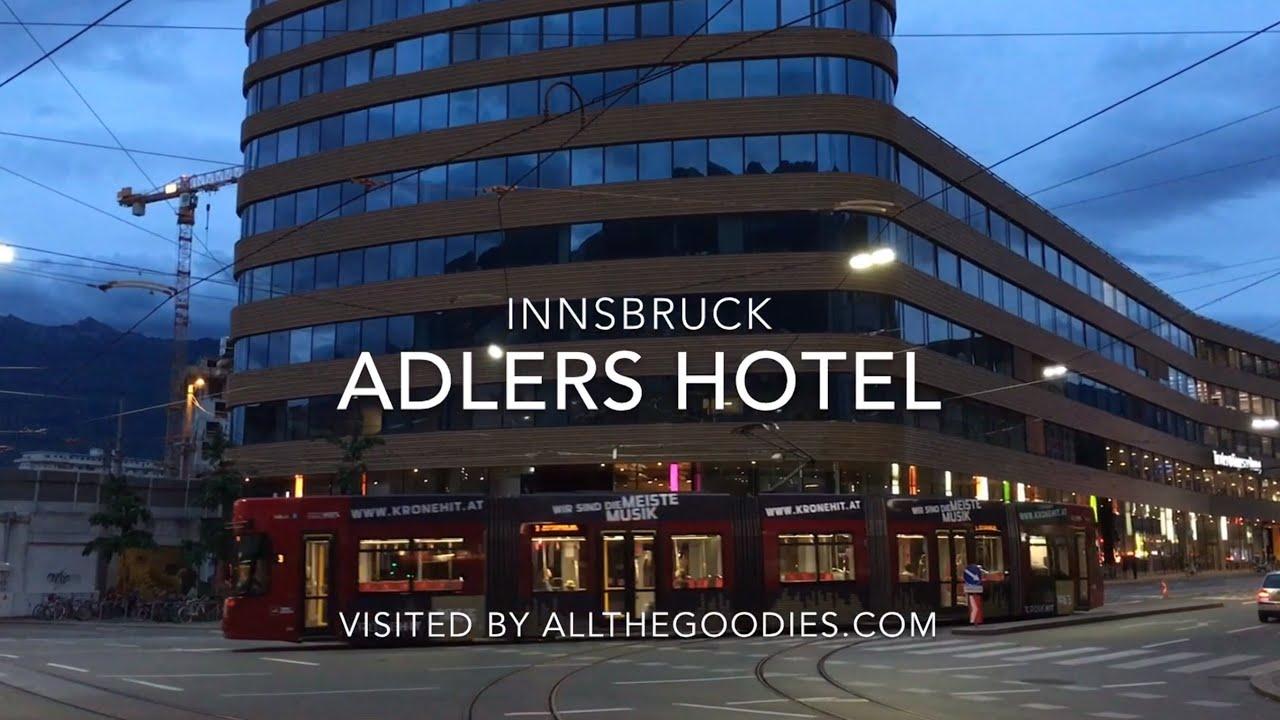 adlers hotel innsbruck youtube